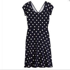 Gilli Rinna Polka Dot Dress, Black, Small